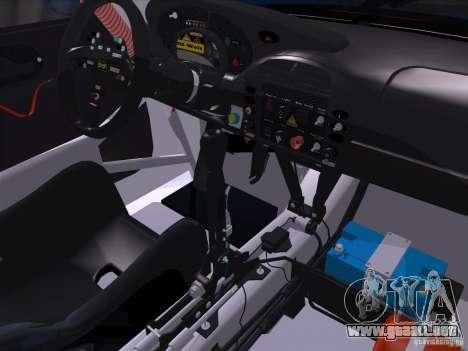 Porsche 911 GT3  RWB para GTA San Andreas vista hacia atrás