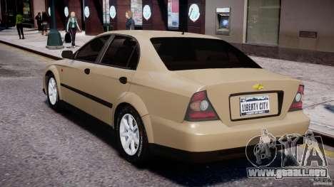 Chevrolet Evanda para GTA 4 visión correcta