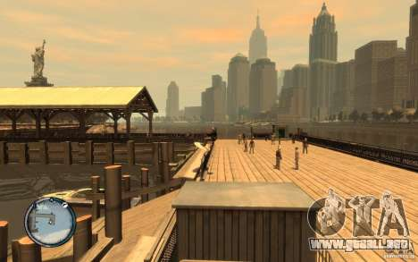 Tabla de surf para GTA 4 visión correcta