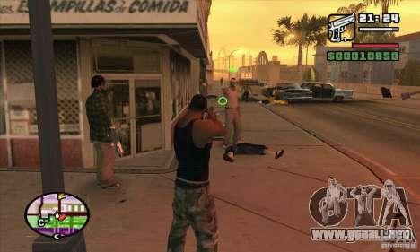 Nueva vista para GTA San Andreas sucesivamente de pantalla