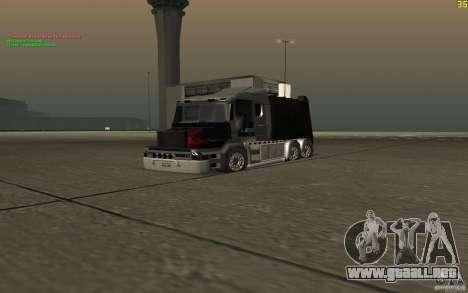 Camión Scania T164 para la visión correcta GTA San Andreas