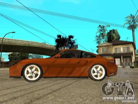 Porsche 911 Turbo S para GTA San Andreas left