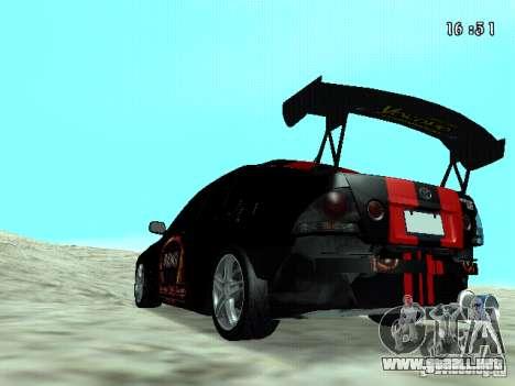 Toyota Altezza NKS Drift para GTA San Andreas left