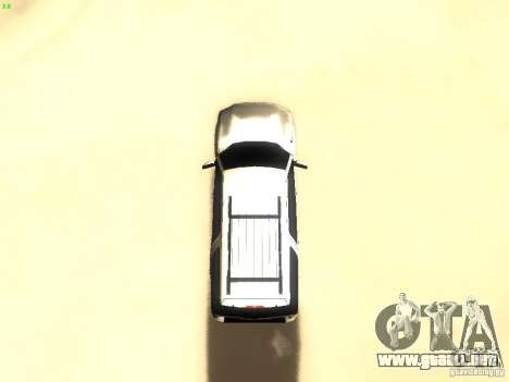 Ford Expedition 2008 para vista lateral GTA San Andreas