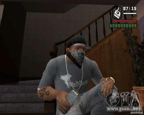 Detector de l. a. t. s. k. e. R # 1 para GTA San Andreas tercera pantalla