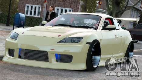 Mazda RX-8 Mad Mike para GTA 4 left
