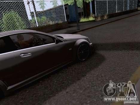 Mercedes-Benz C63 AMG Coupe Black Series para visión interna GTA San Andreas