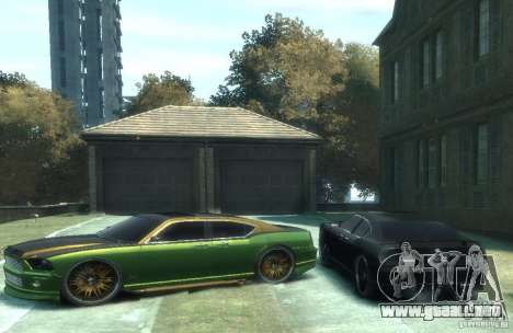 Civilian Buffalo DUB Edition v3.0 para GTA 4 left