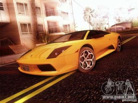 Lamborghini Murcielago Roadster para la visión correcta GTA San Andreas