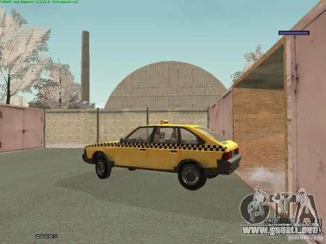 AZLK Moskvich 2141 Taxi v2 para GTA San Andreas interior
