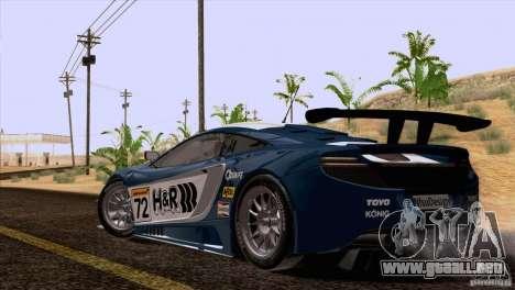 McLaren MP4-12C Speedhunters Edition para el motor de GTA San Andreas