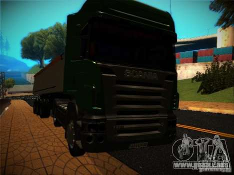 Scania R580 para vista lateral GTA San Andreas