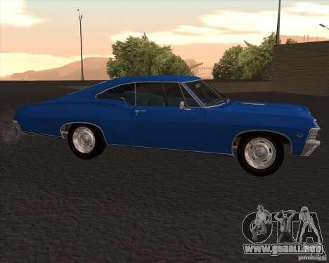 Chevrolet Impala 427 SS 1967 para GTA San Andreas left
