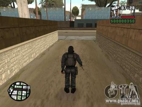 Mercenario acosador de máscara para GTA San Andreas tercera pantalla