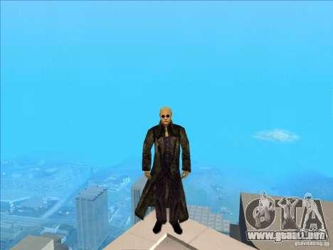 Matrix Skin Pack para GTA San Andreas quinta pantalla