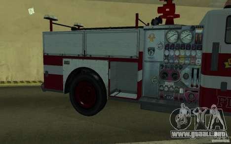FIRETRUCK para visión interna GTA San Andreas