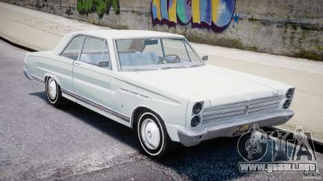 Ford Mercury Comet 1965 [Final] para GTA 4 left