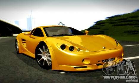 Ascari KZ1R Limited Edition para la visión correcta GTA San Andreas