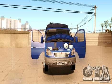 3302 Gacela para la vista superior GTA San Andreas
