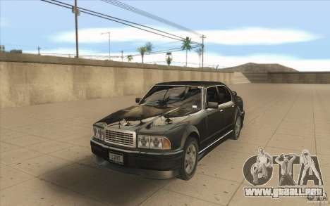 GTA3 HD Vehicles Tri-Pack III v.1.1 para la visión correcta GTA San Andreas