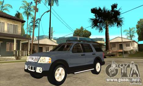 Ford Explorer 2004 para GTA San Andreas