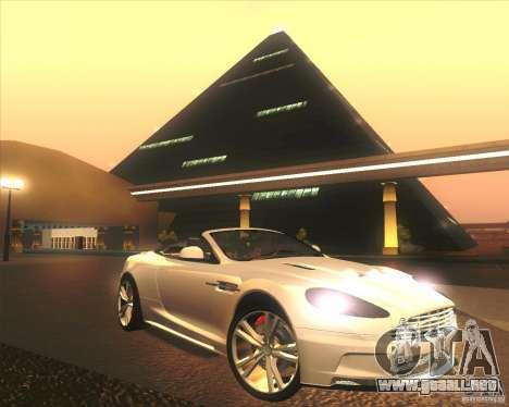 Aston Martin DBS Volante 2009 para el motor de GTA San Andreas