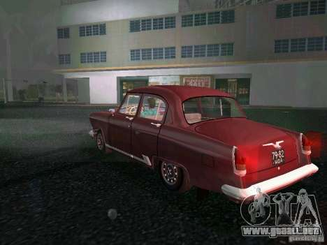 Gaz-21r 1965 para GTA Vice City vista lateral izquierdo