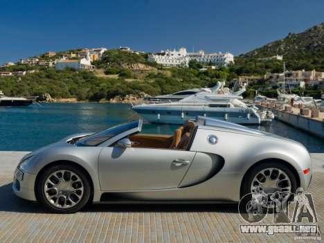 Cargando las pantallas Bugatti Veyron para GTA San Andreas sexta pantalla