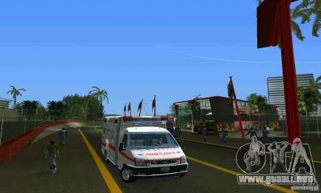 RTW Ambulance para GTA Vice City vista posterior