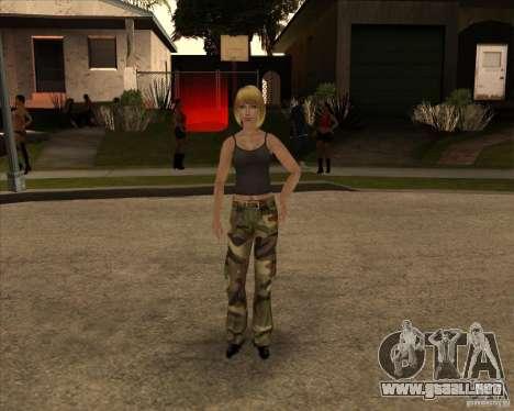 Nuevo gangrl3 para GTA San Andreas