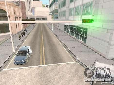 Volkswagen Fox 2011 para GTA San Andreas vista hacia atrás