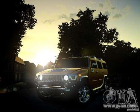 Hummer H2 2010 Limited Edition para GTA 4 vista desde abajo