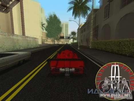 Nuevo velocímetro Lincoln para GTA San Andreas tercera pantalla