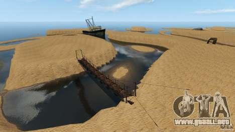 Desierto de Gobi para GTA 4 adelante de pantalla