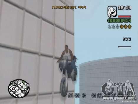 Detener el tiempo para GTA San Andreas sucesivamente de pantalla