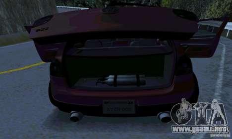 Volkswagen Golf V JDM Style para la visión correcta GTA San Andreas
