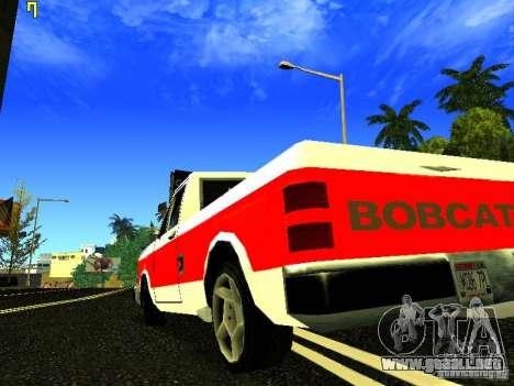 El nuevo gráfico de jeka_raper para GTA San Andreas segunda pantalla