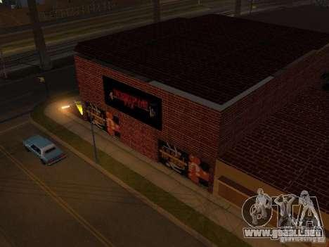Nuevo gimnasio para GTA San Andreas segunda pantalla