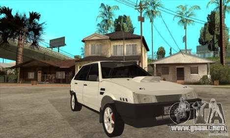 VAZ 21093 para GTA San Andreas vista hacia atrás