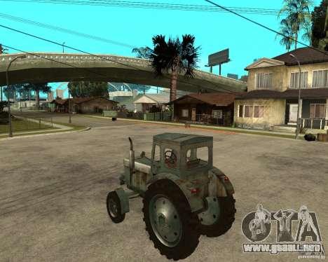 Tractor Т-40М para GTA San Andreas left