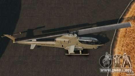 Bell AH-1 Cobra para GTA 4 visión correcta