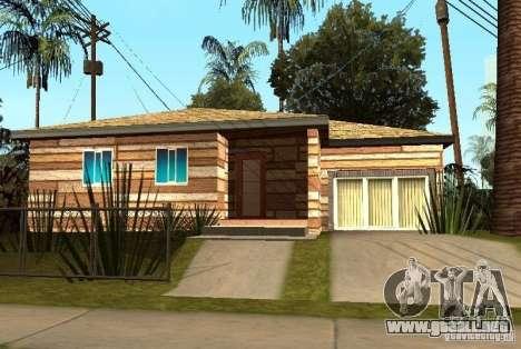 Nuevas texturas de casas en la calle Grove para GTA San Andreas quinta pantalla