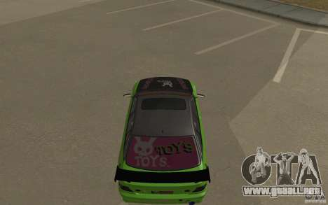 Toyota Altezza Toy Sport para GTA San Andreas left