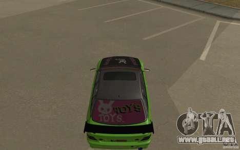 Toyota Altezza Toy Sport para GTA San Andreas left