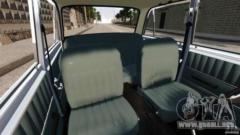 Resto VAZ-2101 para GTA 4 vista interior