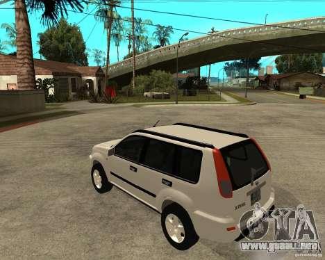 NISSAN X-TRAIL 2001 para GTA San Andreas left