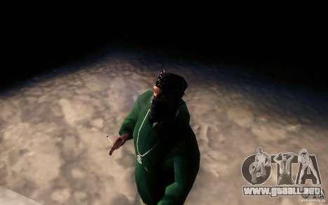 Cigarrillo realista para GTA San Andreas sucesivamente de pantalla