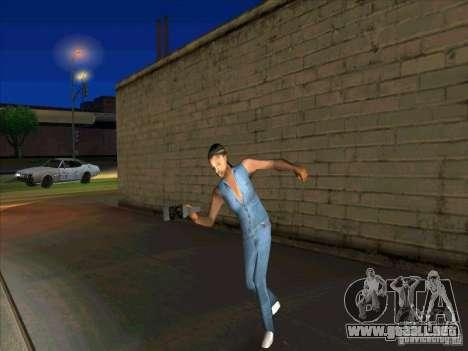 Comportamiento de los demás para GTA San Andreas tercera pantalla