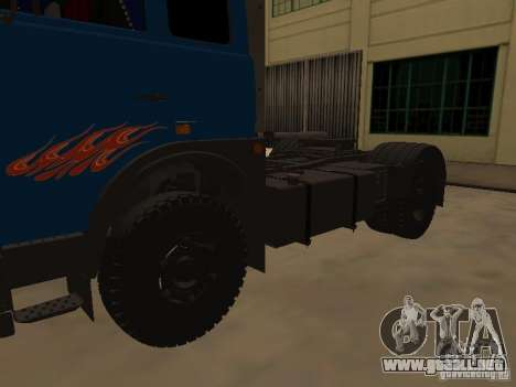 MAZ 5432 YAMZ-238b 4 x 2 para la visión correcta GTA San Andreas