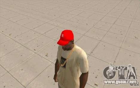 Newyorkyankiys tapa roja para GTA San Andreas